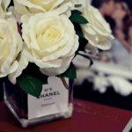 DIY Jarro de flores perfume CHANEL