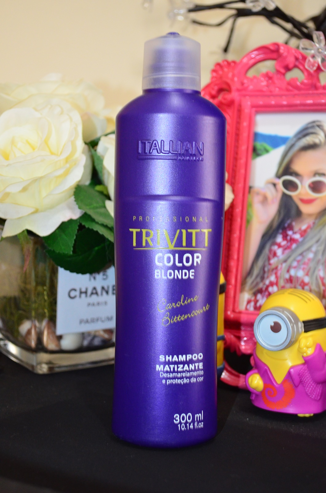 Shampoo e condicionador TRIVITT color blond - itallian hairtech 2