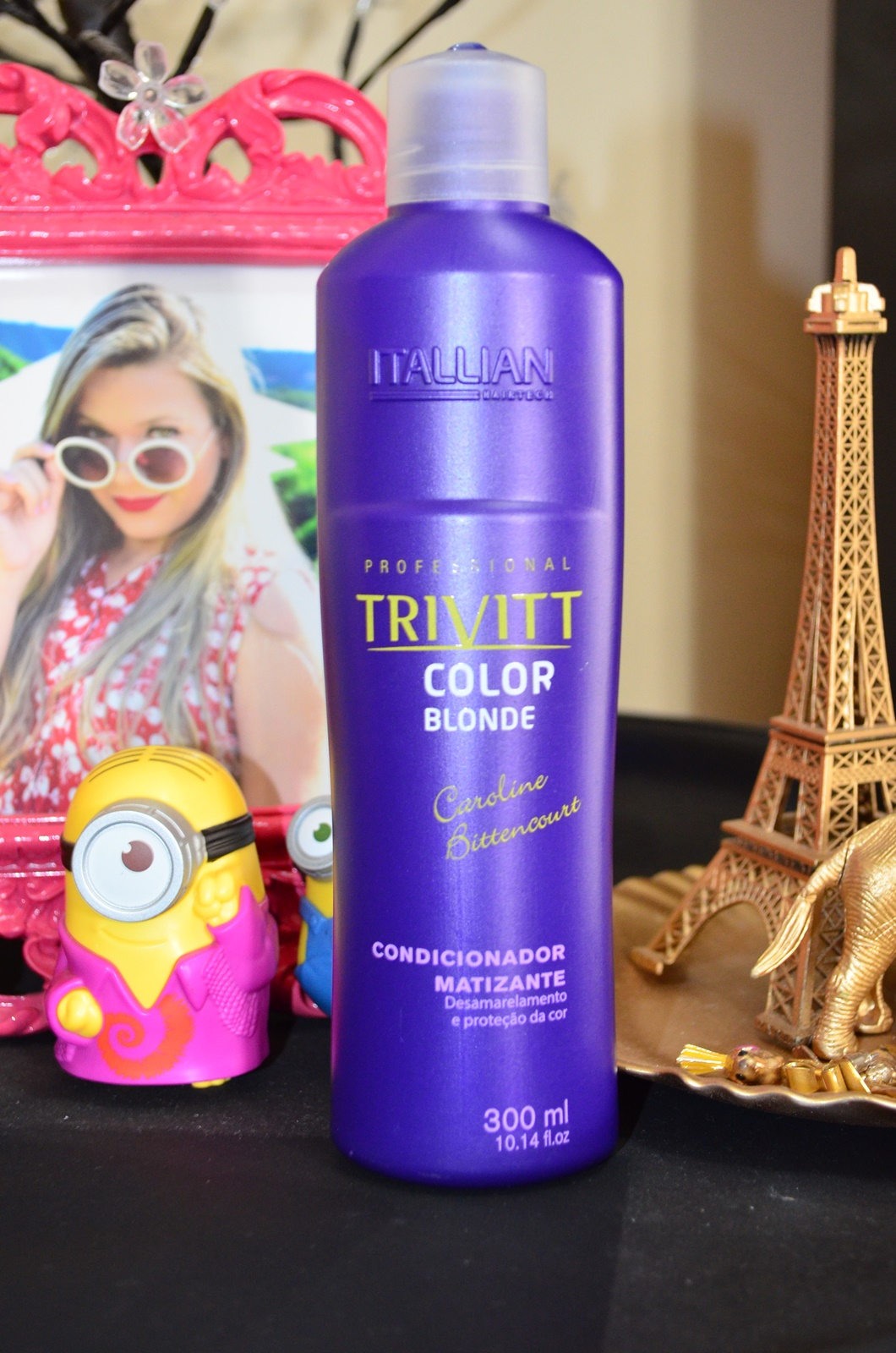 Shampoo e condicionador TRIVITT color blond - itallian hairtech 3