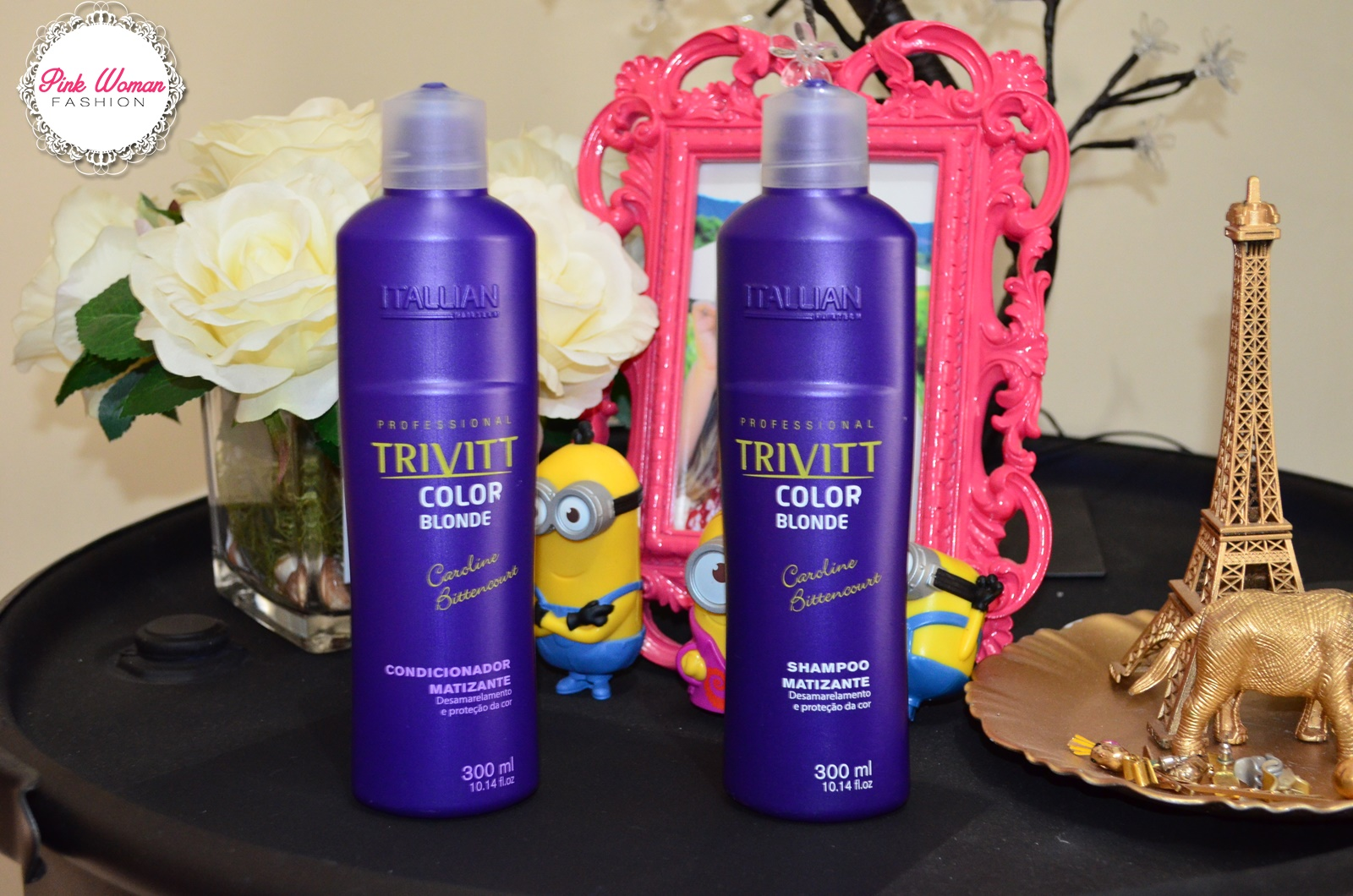 Shampoo e condicionador TRIVITT color blond - itallian hairtech