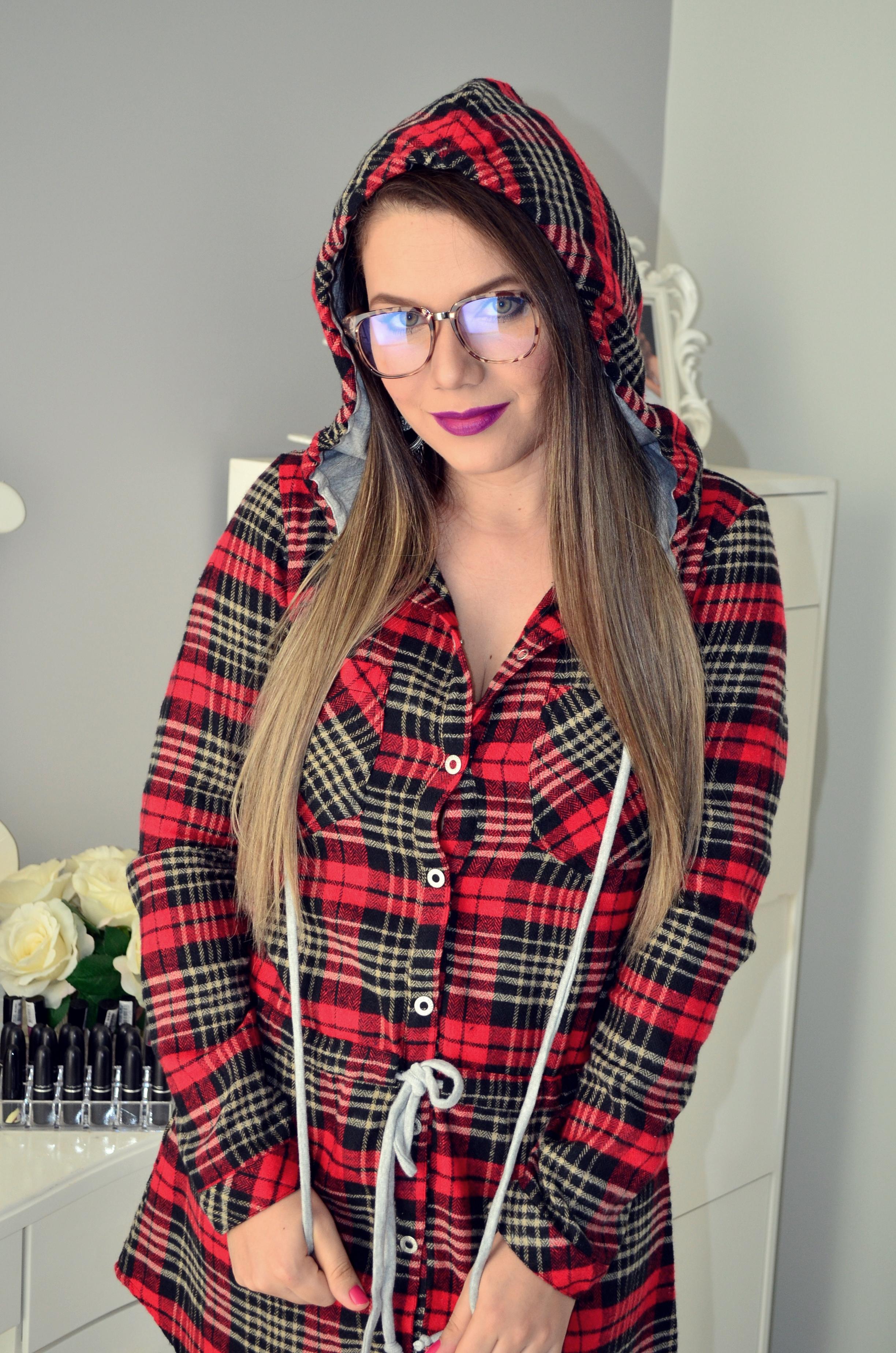 vestido xadrez e bota melissa 7