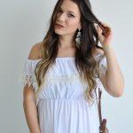 Look do Dia Duplo: Vestido e Conjunto Brancos