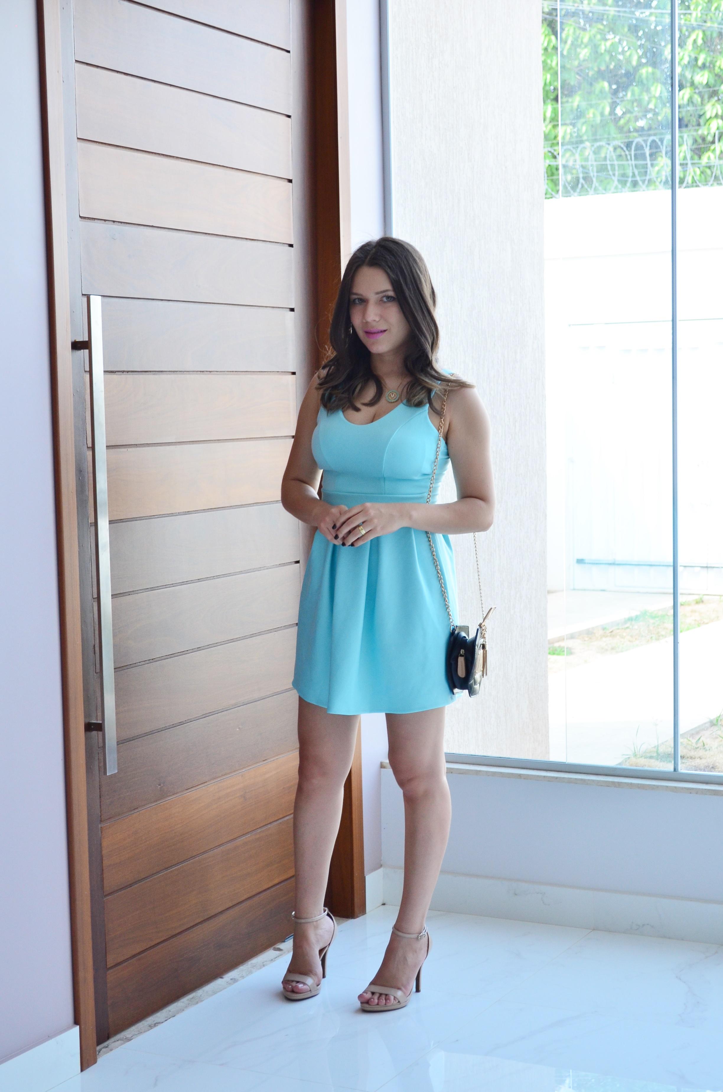 look vestido anna flor store