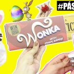 DIYs PÁSCOA – Chocolate Wonka, Pote Coelho e Estojo Coelho
