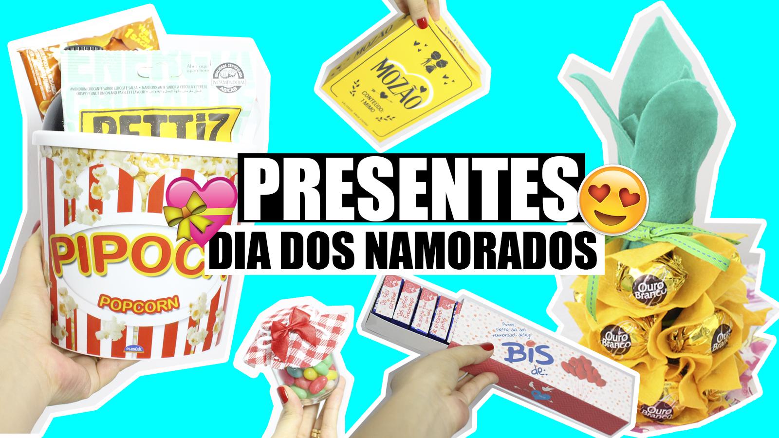 10 DIYs IDEIAS DE PRESENTES PARA O DIA DOS NAMORADOS