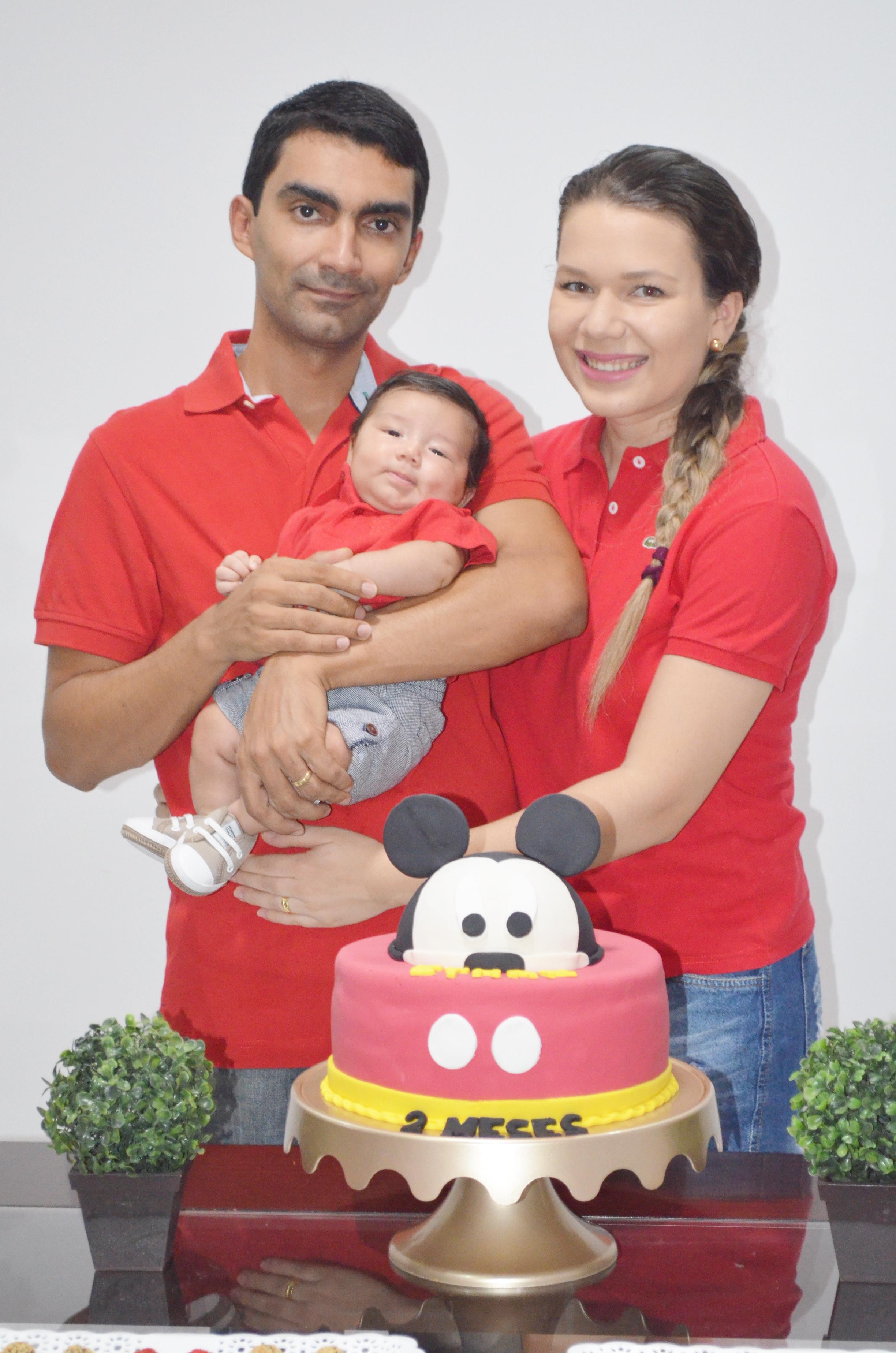 2 mesversario baby ethan - tema mickey mouse 13